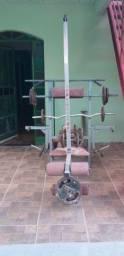 Mesa de exercício completa R$1800,00