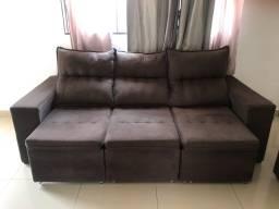 Jogo de sofá de dois e três lugares