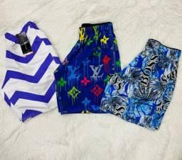 4 shorts Maurícinho por R$100,00