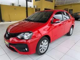 Toyota Etios Sedan X plus automático extra!