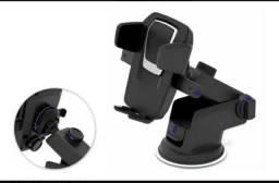 Suporte Celular GPS Carro Resistente Firme Haste Ajuste Prolongável Rotação 360