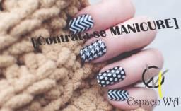 Contrata-se Manicure