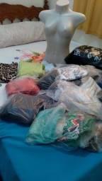 Lote de roupas.