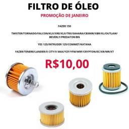 Filtro Oleo Promocao RBA Moto