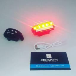 Lanterna alerta traseira bike recarregável//entrega grátis pra toda João pessoa