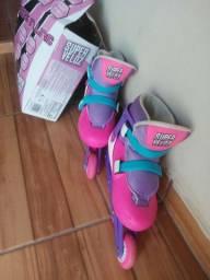 Vendo patins novo usado apenas duas vezes