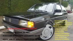 Gol GL 92 Turbo 460 cv, pistão e bielas forjados, c/ rodas 17, todo legalizado *Impecável