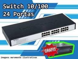 Switch 10/100 24 Portas Fast Ethernet Sf2400qr Intelbras