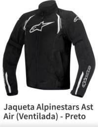 Jaqueta Alpinestars Ast Air Ventilada Preta