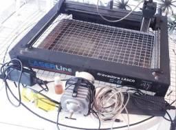 Maquina De Gravação E Corte A Laser S8 Laserline 8w + computador para trabalho