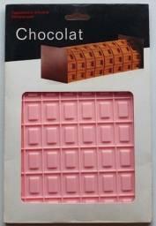 Forma Molde Placa tapete De Silicone Barrinhas tx04 (Rosa) para Pasta Americana
