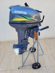 Motor De Poupa 15 HP Yamaha
