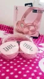 Fone de ouvido JBL bluetooth original rosa