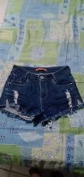 Troco esses shorts por outros shorts