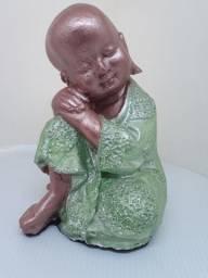 Buda Pequeno pensando 17centímetros de cumprimento
