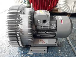 Compressor Radial 4.5 cv trifásico rpm 3000.