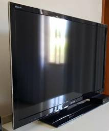 """TV 40"""" Led 3D Sony Full HD, Netflix, Wi-Fi, HDMI e USB e 3 óculos 3D Em perfeito estado"""