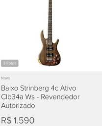 Baixo Strinberg 4C Ativo