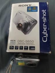 Camera relíquia sony