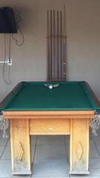 Mesa de bilhar completa