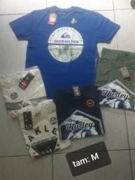 5 camisas por 130 reais