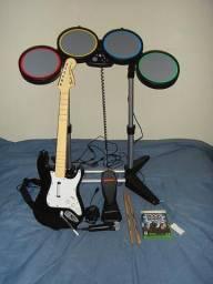 Rockband para xbox 360