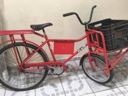 Bicicleta Cargueira Vermelha GTS
