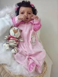 35de521522 Boneca bebê Reborn Liliane Corpo em tecido 55cm E 2517kg Promoção