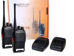 Rádio Comunicador Baofeng Bf-777s Walktalk Promoção 160,00 o Par