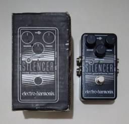 Pedal para guitarra noise gate silencer - electro harmonix