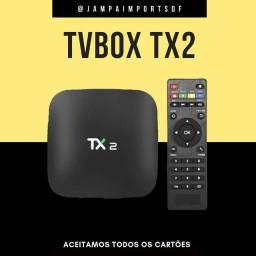 TV B0X LINHA PROFISSIONAL TX2 // PRODUTO NOVO COM GARANTIA