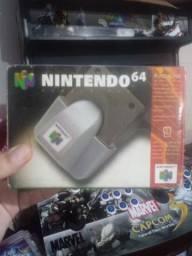 Rumble pak N64 100% original na caixa comprar usado  Ananindeua