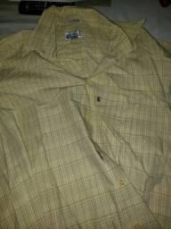 Camisa pro são João de manga longa número 39-40 la ville poliéster e algodão