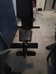 Estação de Musculação completa - Exercício na Quarentena !