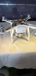 drone dji 2 phanton vision + com defeito na camera