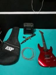 Guitarra LTD M-10 + conjunto completo