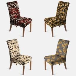 Capa de Cadeira diversas estampas - Encaixe perfeito