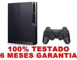 PS3 slim 160gb, 6 meses garantia, loja física desde 2004, AvaliamosTroca