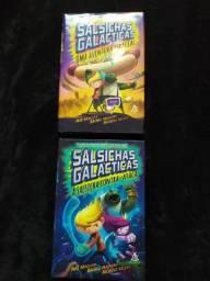 Salsichas galáticas volume 1 e 2