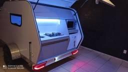 Mini trailer, trailer, motor home