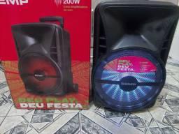 Vendo Caixa de Som, Semp , 200 Rms,  bate bem, Pega Bluetooth etc..  R$= 480,00