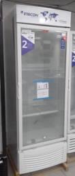 Freezer D/Acao vertical vidro 565L