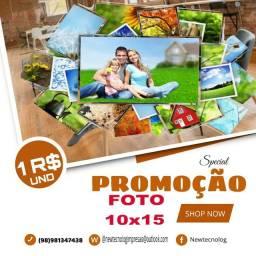 Promoção fotos
