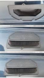 Filtro k&N original SRAD 1000 ano 2012 a 2016