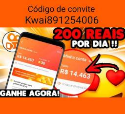 Renda extra  https://m.kwai.app/s/Ii6b3p4L?share_id=ANDROID_a32a2b2b2d93d815_ *2