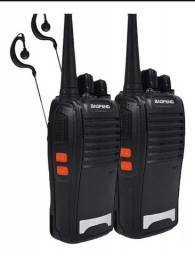Walkie-talkie<br>Kit 2 Radio Comunicador Baofeng  Fone