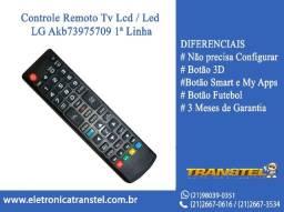 Controle Remoto Tv Lcd / Led LG Akb * 1ª Linha