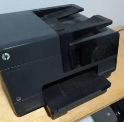 Impressora HP Officejet Pro 8610 com defeito na cabeça de impressão.