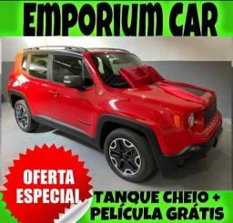 Título do anúncio: SO NA EMPORIUM CAR!!! JEEP RENEGADO 2.0 4X4 DIESEL TRAILHAWK AUTOMÁTICO ANO 2016