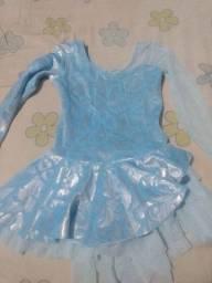 Vestido Frozen tamanho 3 anos